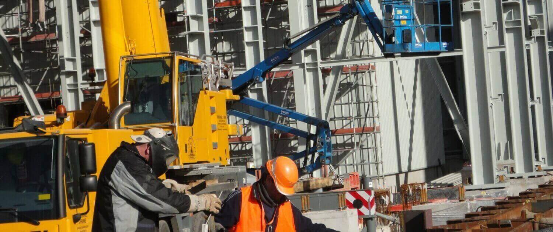Fabricación y construcción de estructuras metálicas